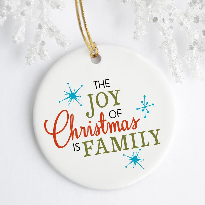 The Joy of Christmas Ornament - Loftipop
