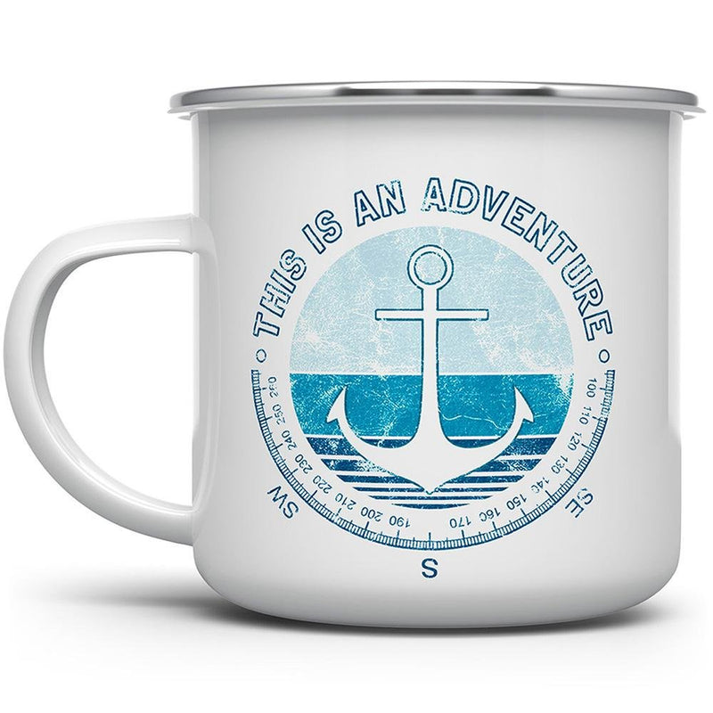 This is an Adventure Camp Mug - Loftipop