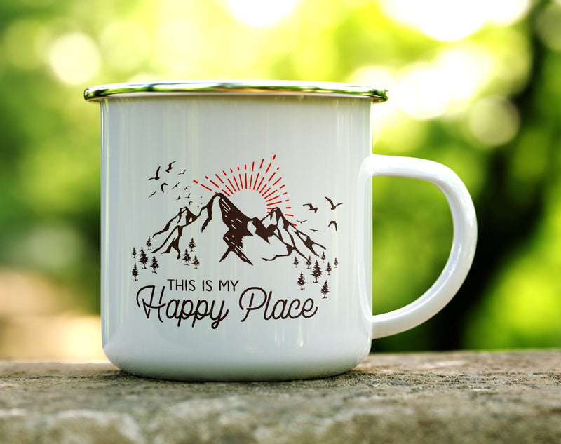 This is My Happy Place Camp Mug - Loftipop