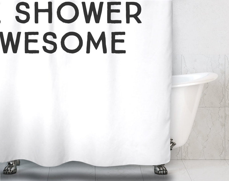 Wake Up Shower Curtain - Loftipop