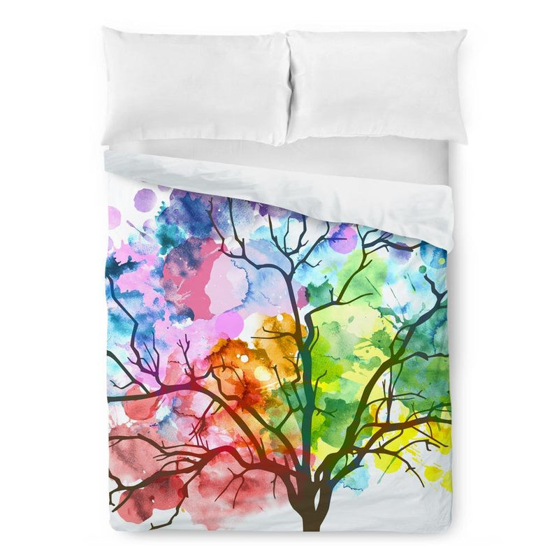 Watercolor Tree Duvet Cover - Loftipop