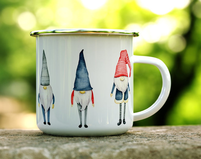 Winter Gnome Camp Mug - Loftipop