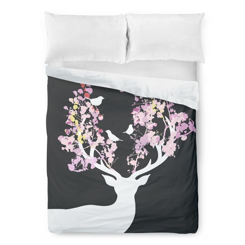 Woodland Deer Duvet Cover - Loftipop