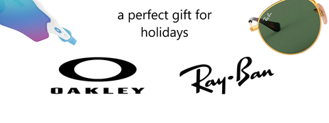 Ray-Ban and Oakley