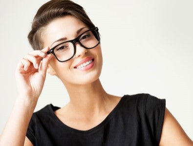 Womans Eyeglasses