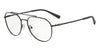 Exchange Armani AX1029 Irregular Eyeglasses  6063-MATTE BLACK 57-17-145 - Color Map black