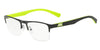 Exchange Armani AX1031 Rectangle Eyeglasses  6000-BLACK 54-19-145 - Color Map black