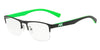 Exchange Armani AX1031 Rectangle Eyeglasses  6063-MATTE BLACK 54-19-145 - Color Map black