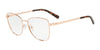 Exchange Armani AX1033 Irregular Eyeglasses  6103-ROSE GOLD 53-16-140 - Color Map pink