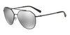 Exchange Armani AX2023S Irregular Sunglasses  60006G-BLACK 59-14-140 - Color Map black