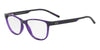 Exchange Armani AX3047 Cat Eye Eyeglasses  8236-TRANSPARENT PURPLE 53-15-140 - Color Map purple/reddish