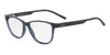 Exchange Armani AX3047 Cat Eye Eyeglasses  8237-TRANSPARENT BLUE 53-15-140 - Color Map blue
