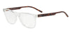 Exchange Armani AX3048F Pillow Eyeglasses  8235-TRANSPARENT CRYSTAL 56-17-145 - Color Map clear