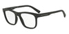 Exchange Armani AX3050F Square Eyeglasses  8078-MATTE BLACK 55-18-140 - Color Map black