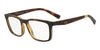 Exchange Armani AX3052F Rectangle Eyeglasses  8029-MATTE BROWN HAVANA 55-18-140 - Color Map havana