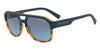 Exchange Armani AX4074SF Rectangle Sunglasses  82468F-MATTE HAVANA/MATTE BLUE 59-17-145 - Color Map blue