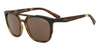Exchange Armani AX4076S Irregular Sunglasses  802973-MATTE HAVANA BROWN 56-19-140 - Color Map havana