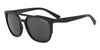 Exchange Armani AX4076S Irregular Sunglasses  807887-MATTE BLACK 56-19-140 - Color Map black