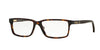 Brooks Brothers BB2029 Rectangle Eyeglasses  6096-DARK TORTOISE/MATTE DARK TORT 55-15-140 - Color Map havana