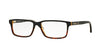 Brooks Brothers BB2029 Rectangle Eyeglasses  6099-BLACK TORT/MATTE BLACK TORT 55-15-140 - Color Map black