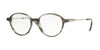 Brooks Brothers BB2035 Phantos Eyeglasses  6103-GREY HORN/SILVER 51-17-140 - Color Map grey