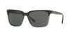 Brooks Brothers BB5032S Square Sunglasses  612387-GREY WOOD/GREY TRANSLUCENT 57-16-140 - Color Map grey