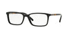 Burberry BE2199 Rectangle Eyeglasses  3001-BLACK 55-17-145 - Color Map black