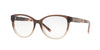 Burberry BE2229 Square Eyeglasses  3597-BROWN GRADIENT PINK 52-16-140 - Color Map brown