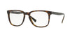 Burberry BE2239 Square Eyeglasses  3536-MATTE DARK HAVANA 53-18-140 - Color Map havana