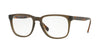 Burberry BE2239 Square Eyeglasses  3616-MATTE GREEN 53-18-140 - Color Map green