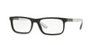 Burberry BE2240F Rectangle Eyeglasses  3001-BLACK 55-18-145 - Color Map black
