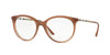 Burberry BE2244Q Round Eyeglasses  3173-BROWN GRADIENT 52-18-140 - Color Map brown