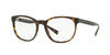 Burberry BE2247 Square Eyeglasses  3536-MATTE DARK HAVANA 52-19-140 - Color Map havana