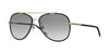 Burberry BE3078J Pilot Sunglasses  114511-LIGHT GOLD/MATTE BLACK 57-15-135 - Color Map black