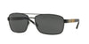 Burberry BE3081 Rectangle Sunglasses  100187-BLACK 63-16-135 - Color Map black