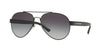 Burberry BE3086 Pilot Sunglasses  1007S6-MATTE BLACK 59-15-140 - Color Map black