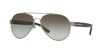 Burberry BE3086 Pilot Sunglasses  10083Y-BRUSHED GUNMETAL 59-15-140 - Color Map gunmetal