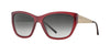 Burberry BE4174 Irregular Sunglasses  34028G-BORDEAUX 56-17-140 - Color Map bordeaux
