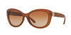 Burberry BE4217 Butterfly Sunglasses  357513-MATTE BROWN 56-16-140 - Color Map brown