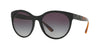 Burberry BE4236F Round Sunglasses  30018G-BLACK 56-19-140 - Color Map black