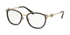 Bvlgari BV2206 Oval Eyeglasses  278-BLACK 53-17-140 - Color Map black
