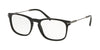Bvlgari BV3038 Rectangle Eyeglasses  501-BLACK 54-19-145 - Color Map black