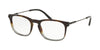 Bvlgari BV3038 Rectangle Eyeglasses  5457-DARK HAVANA/DARK GREY 54-19-145 - Color Map grey