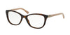 Bvlgari BV4092B Oval Eyeglasses  5374-DARK HAVANA 52-17-140 - Color Map havana