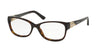 Bvlgari BV4104B Oval Eyeglasses  504-DARK HAVANA 54-16-140 - Color Map havana