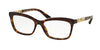 Bvlgari BV4116B Butterfly Eyeglasses  504-DARK AVANA 54-16-140 - Color Map havana