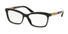 Bvlgari BV4116B Butterfly Eyeglasses  5383-TOP CRYSTAL ON BLACK 52-16-140 - Color Map black