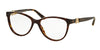 Bvlgari BV4119B Oval Eyeglasses  504-DARK HAVANA 54-15-140 - Color Map havana