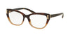 Bvlgari BV4122 Cat Eye Eyeglasses  5362-HAVANA GRADIENT BROWN 54-17-140 - Color Map havana