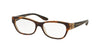 Bvlgari BV4124B Rectangle Eyeglasses  5379-TOP HAVANA/BROWN CRYSTAL 54-16-140 - Color Map havana